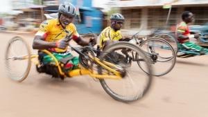 Grand Prix National de l' Inclusion: une moto pour Amstrong